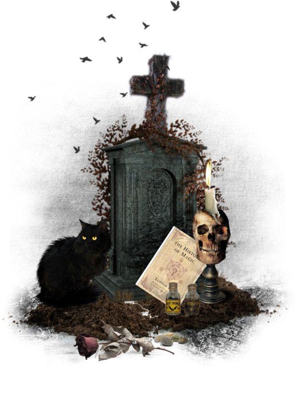 """GhostlyDream"" by esteladesign on Polyvore"