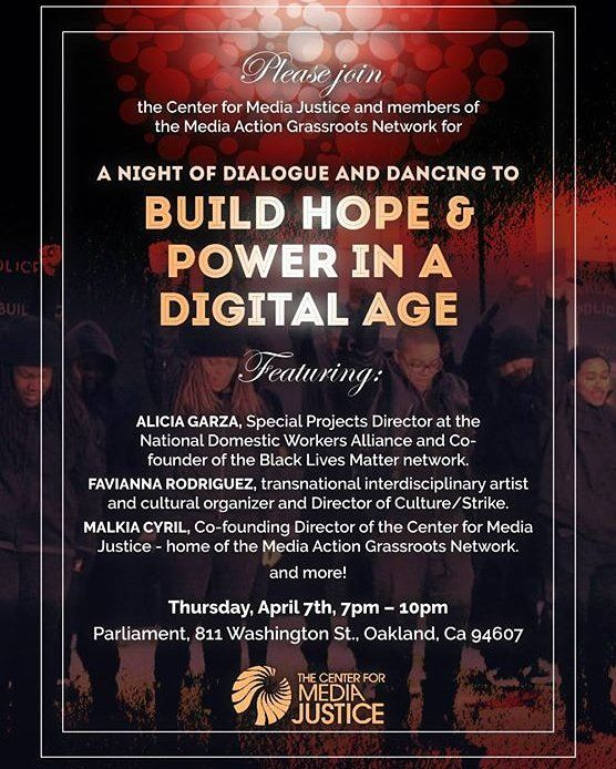 CultureSHIFT Funk-Tion: Build Hope & Power In A Digital Age #oaklandmovingforward #oakland