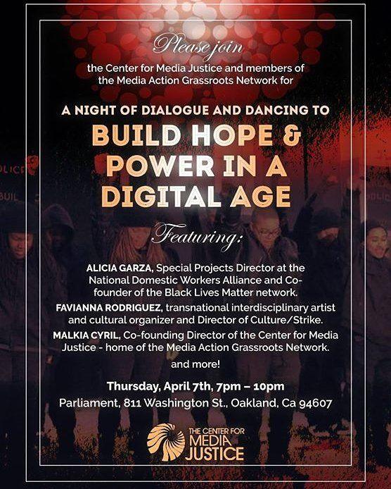 CultureSHIFT Funk-Tion: Build Hope & Power In A Digital Age #oaklandmovingforward #oakland