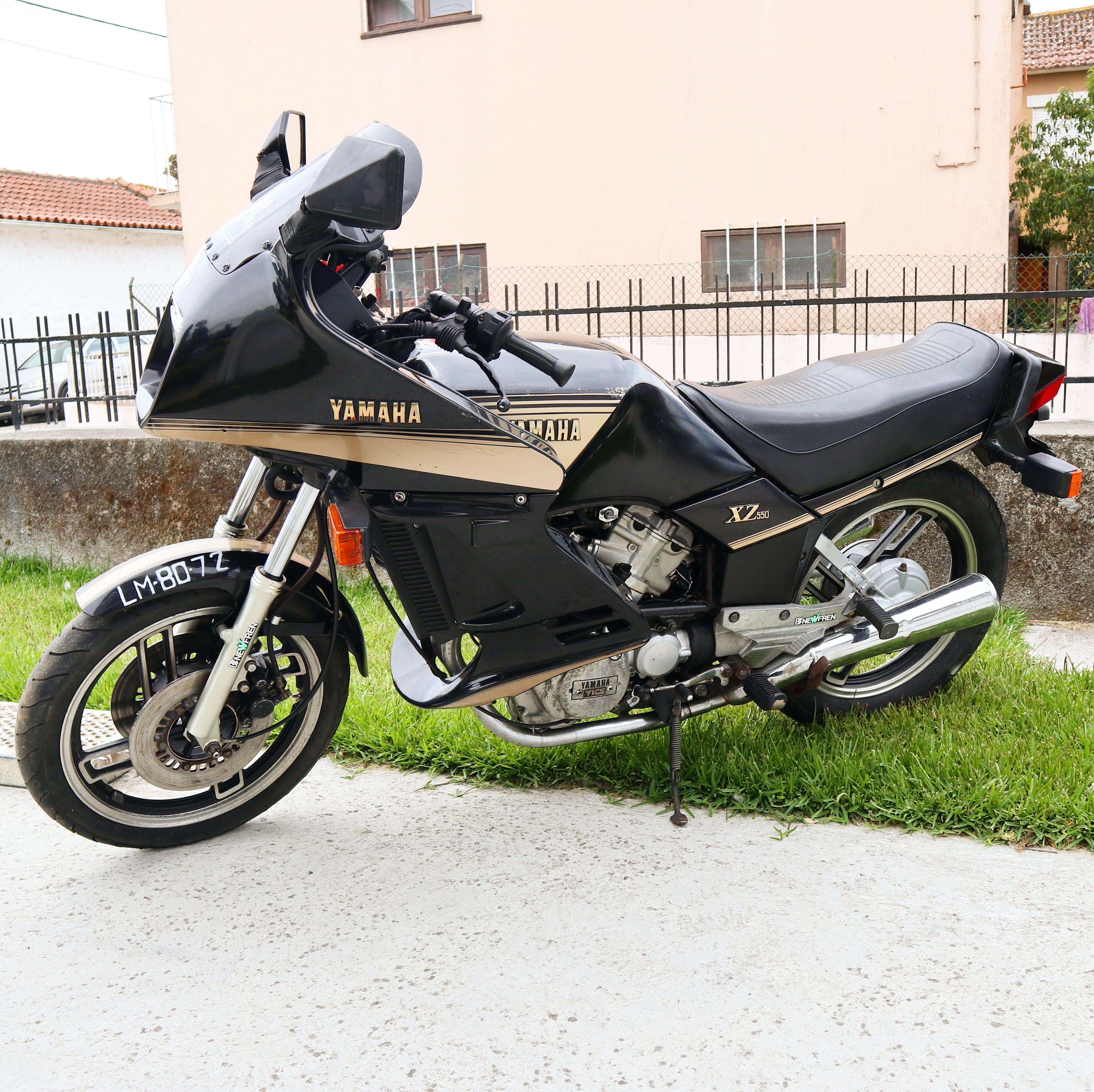 Speed Block style: A Yamaha XZ 550 restomod   Bike EXIF
