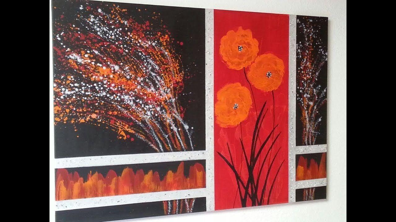 acrylmalerei abstrakt für anfänger ideen  painting