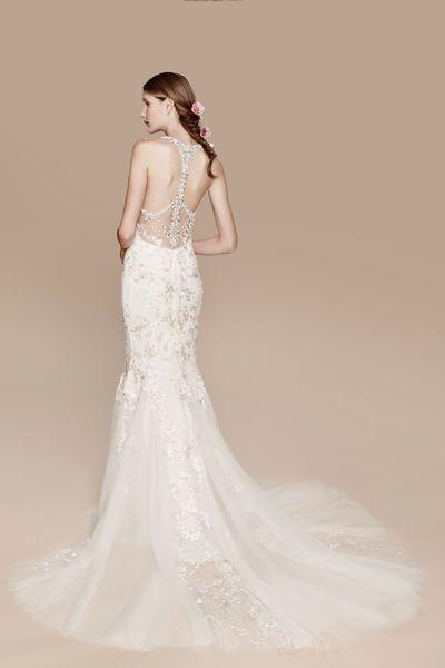 Verführerische Einblicke bei der Hochzeit: Brautkleider mit ...