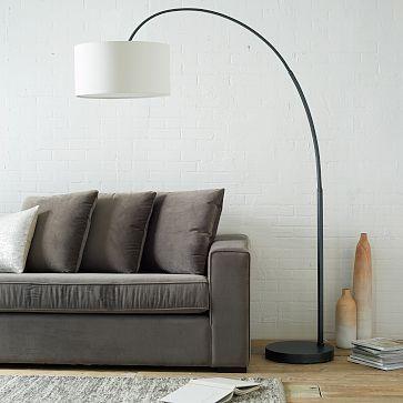 Overarching Floor Lamp Bronze Westelm