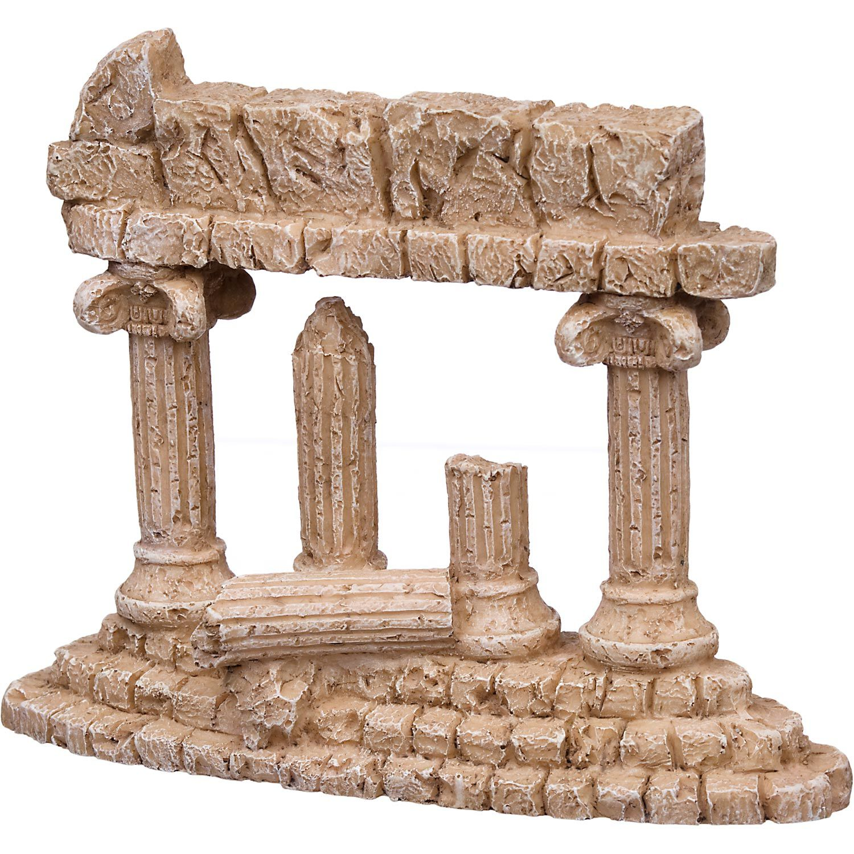 Petco large greek 4 column aquarium ornament ruins for Petco fish tank decor