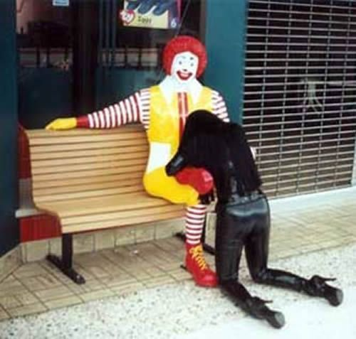 Image result for funny ronald mcdonald
