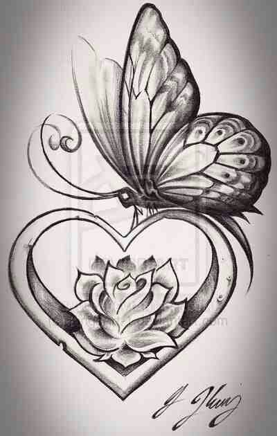 the butterfly rose up from the lotus
