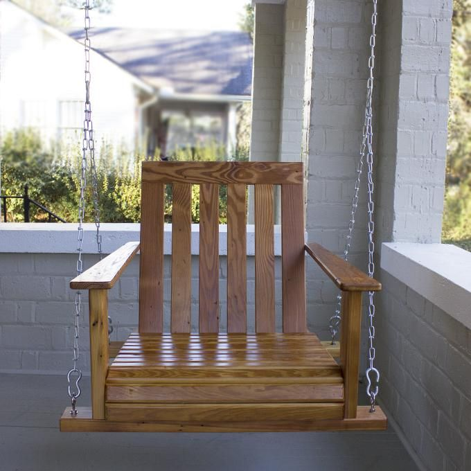 Swing Chair Home Town Retro Step Stool Mission Swingchair Swinging