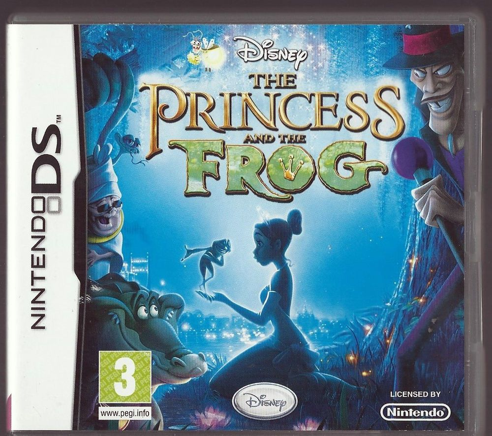 Nintendo Ds Disney The Princess And The Frog Plays 3ds In 2d