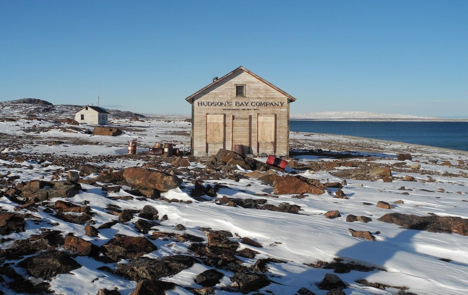 The Old Hudson S Bay Trading Post Fort Ross Nunavut 1600x1010