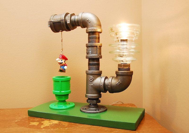 Mariopipe-lamp