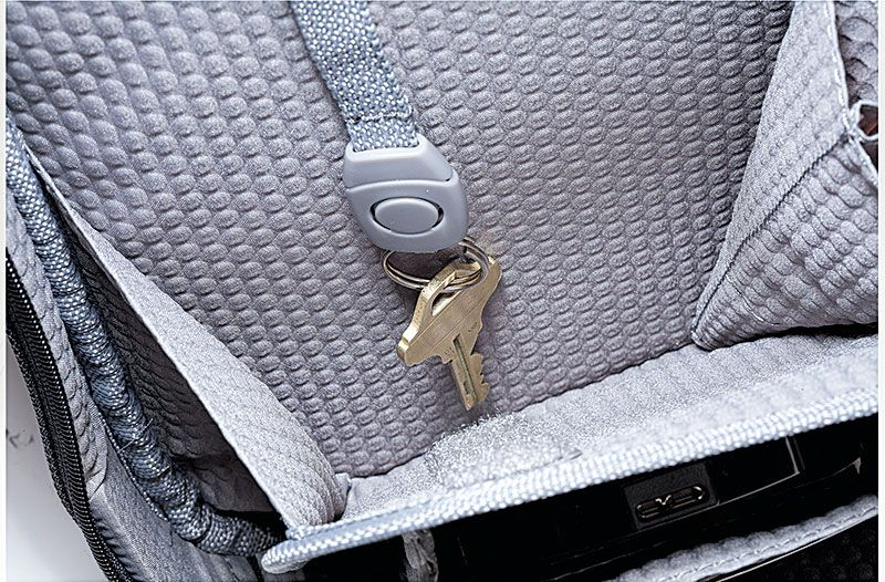 """With our Revolution Plus 18"""" Checkpoint Wheeled Brief you will never lose your keys again. With its easy access key fob they are impossible to lose. Get organized with Pathfinder Revolution Luggage. Safe travels! Find out more at: http://pathfinderluggage.com/"""