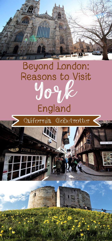 Beyond London: Reasons to Visit York #travelengland