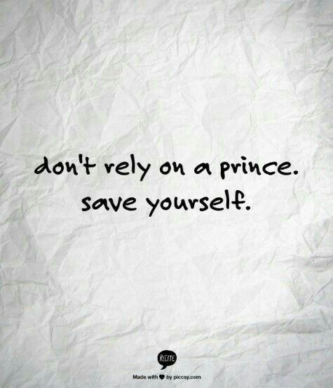 No confies en un principe sino en ti mismo