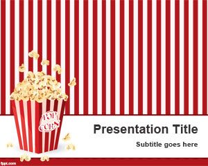 Pop corn powerpoint template is a funny ppt template slide design pop corn powerpoint template is a funny ppt template slide design with pop corn illustration toneelgroepblik Image collections