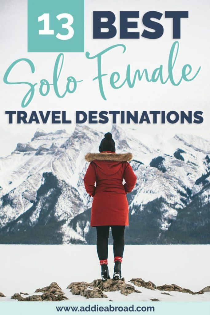 Looking for the best solo female travel destinations for 2020? Look no further! These 13 places around the world are perfect for first time solo female travelers and girls who are looking for adventure. From Amsterdam to Bali to Mexico, you can't miss these amazing solo female travel destinations!