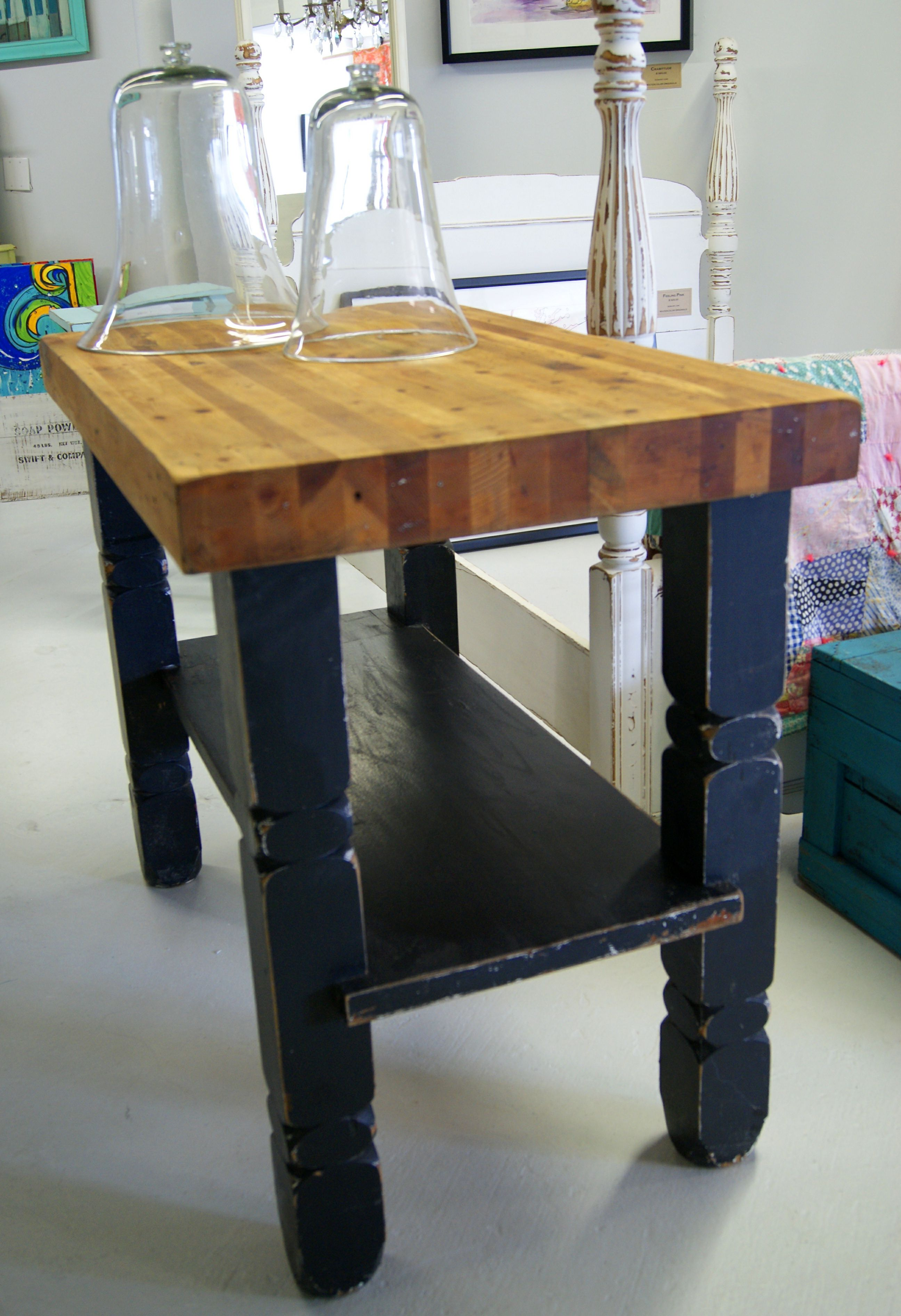 furniture kitchen. multipurpose custom butcher block island design