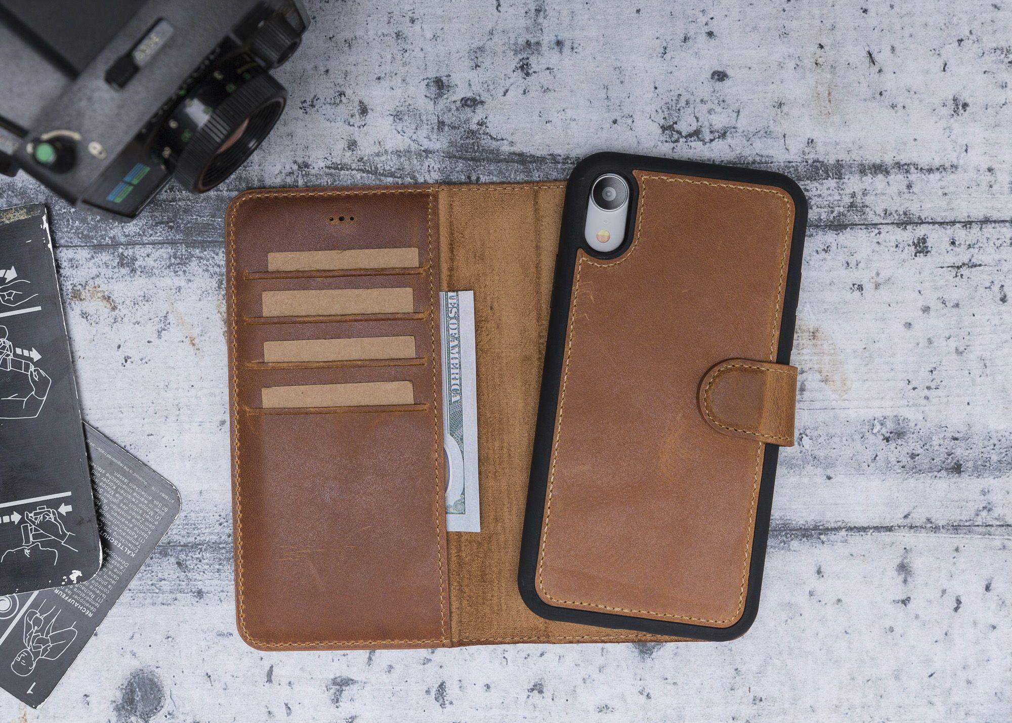 Handmade cow leather phone case iphone 78 plusxxsxr