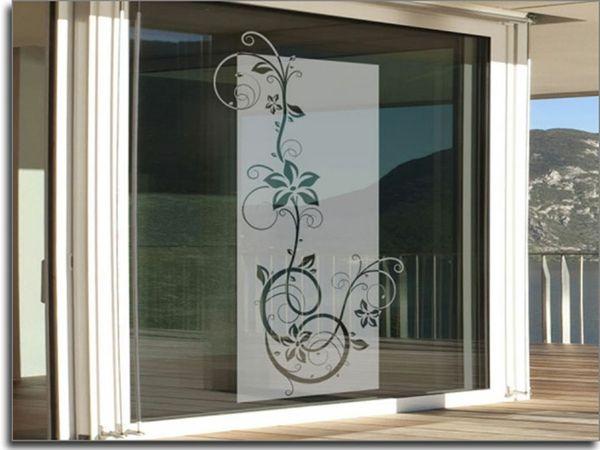 fenster-dekofolien-sichtschutz- blumen - Sichtschutzfolie für - sichtschutz f r badezimmerfenster