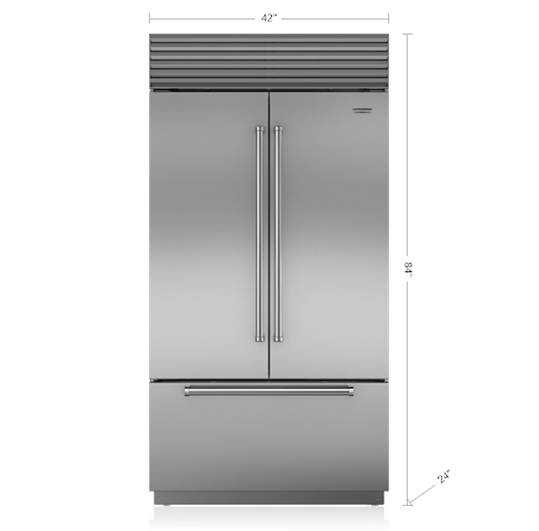 42 Classic French Door Refrigerator Freezer With Internal Dispenser French Door Refrigerator Best French Door Refrigerator Refrigerator Freezer