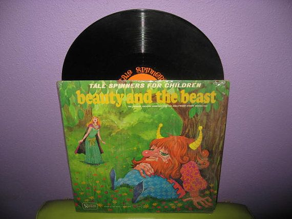 SUMMER SALE Rare Vinyl Record Beauty and the by JustCoolRecords, $17.00