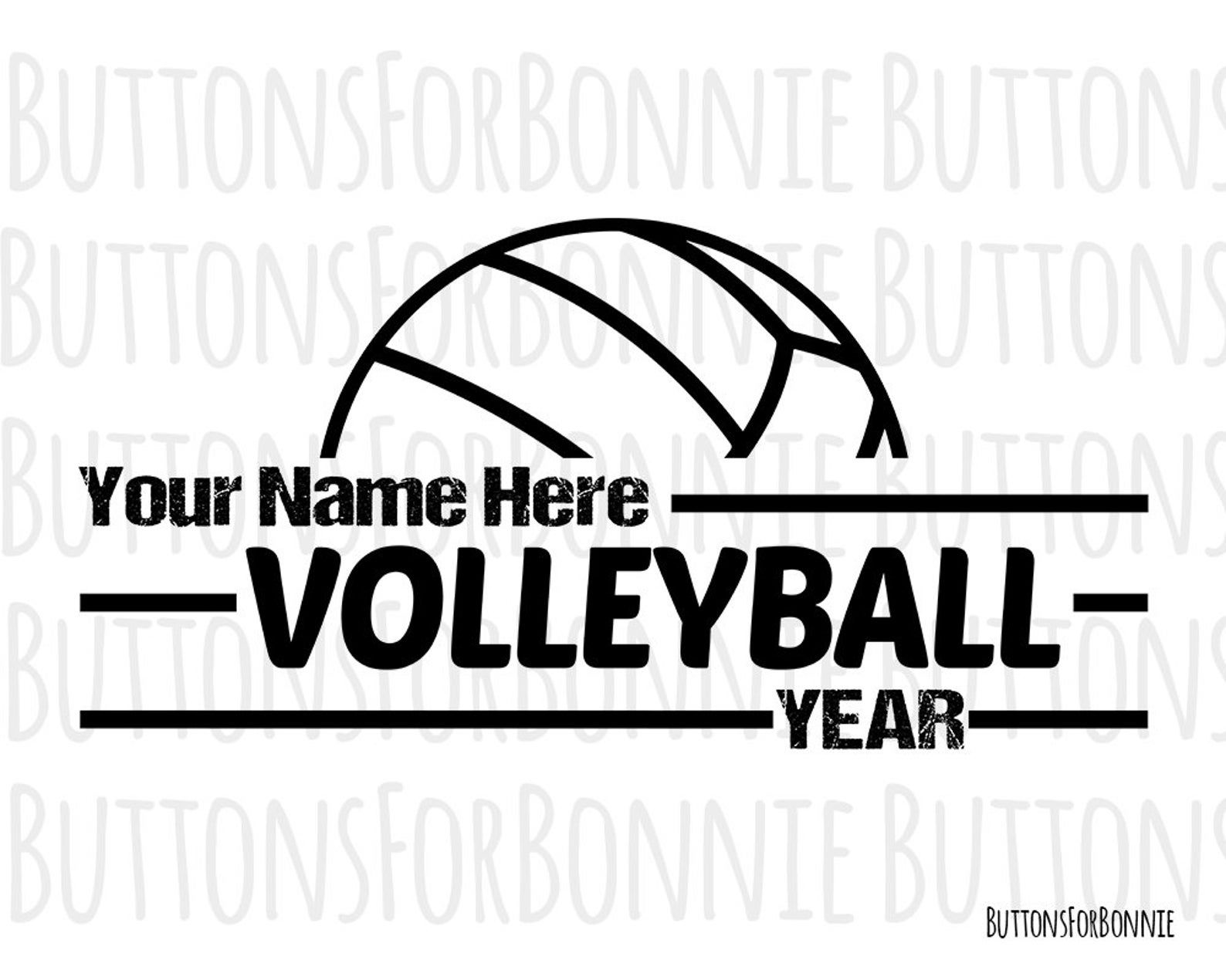 Volleyball Svg Editable Template Volleyball Emblem Etsy In 2020 Team Names Volleyball Volleyball Team