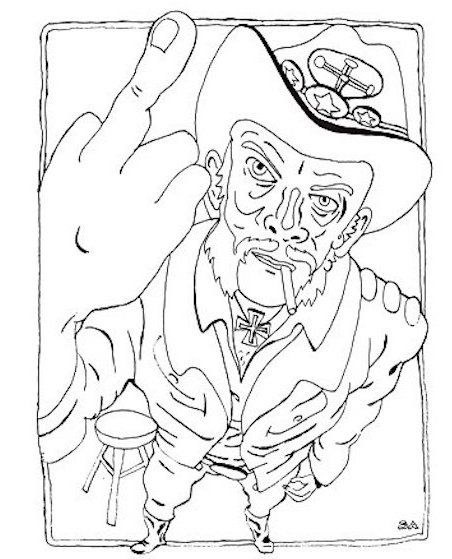 Color Me Impressed Lemmy And David Bowie Themed Coloring Books Are