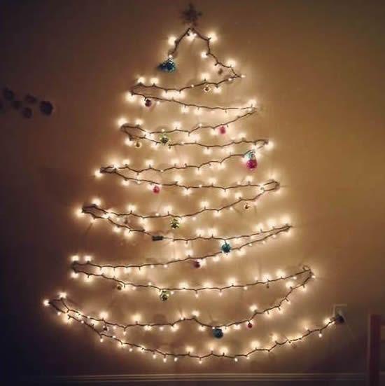 10 Ideias Criativas Para Decorar Com Luzes De Natal Luzes