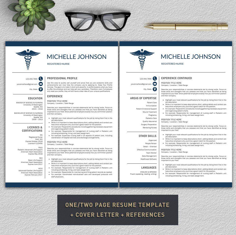 Nurse Resume / Doctor CV by Pro.Graphic.Design on