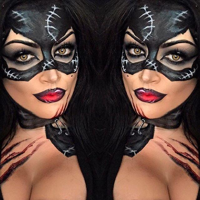 Cat Women Makeup Catwoman Makeup Halloween Makeup