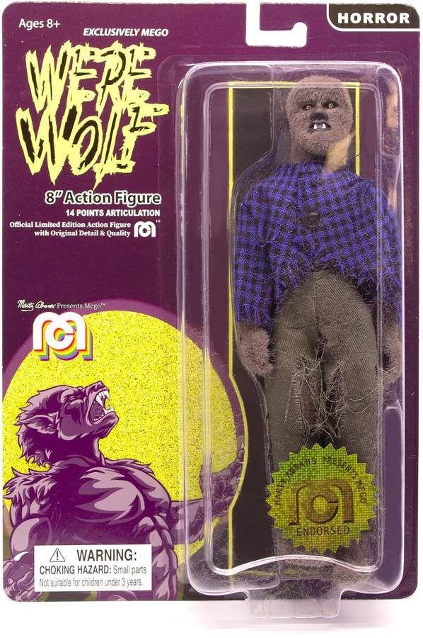 Mego 8Inch Werewolf Action Figure