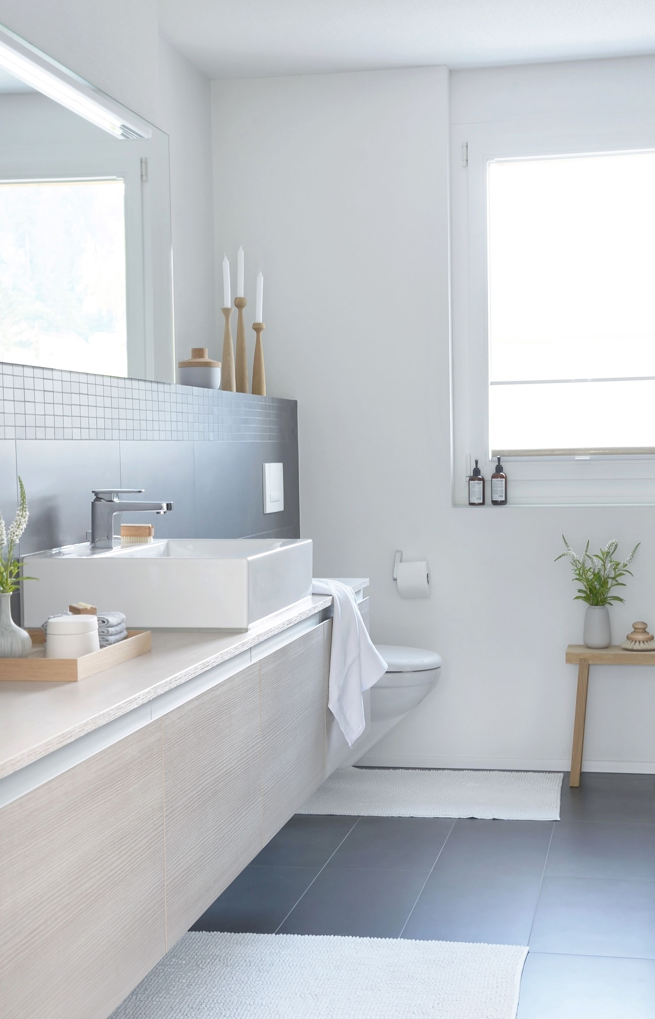 Home interior design badezimmer einfach einblick  bad  pinterest  interiors bath and bathroom interior