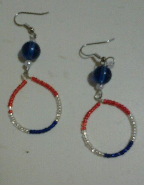 4th of July earrings | Earrings | Jewelry, Earrings, DIY ...