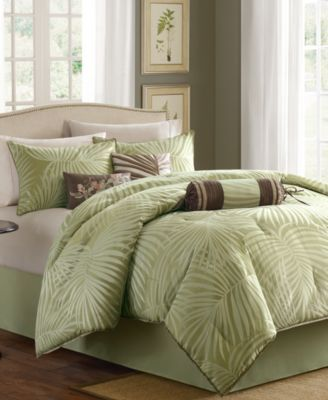 Madison Park Freeport 7 Pc California King Comforter Set Reviews Bed In A Bag Bed Bath Macy S Comforter Sets Tropical Bedding Sets Tropical Bedding
