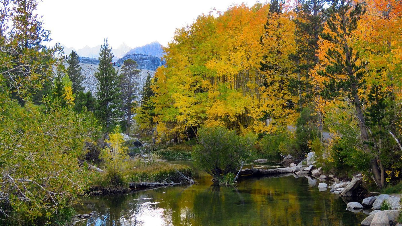 2a979cd522 Sierra snow adds backdrop to fall colors