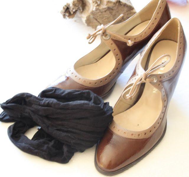 shining shoes
