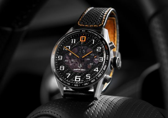 Tag Heuer Carrera MP4-12C chronograph (with McLaren Automotive ...