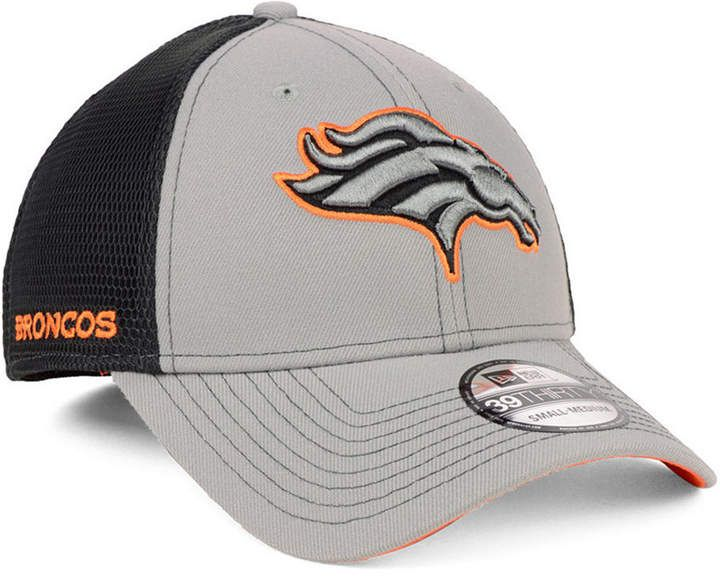 new products bf032 dacb5 New Era Denver Broncos 2-Tone Sided 39THIRTY Cap