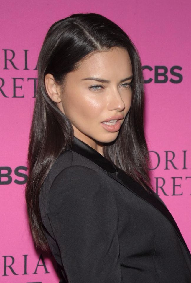 Adriana Lima Beautiful Hair Color H A I R Envy In 2018