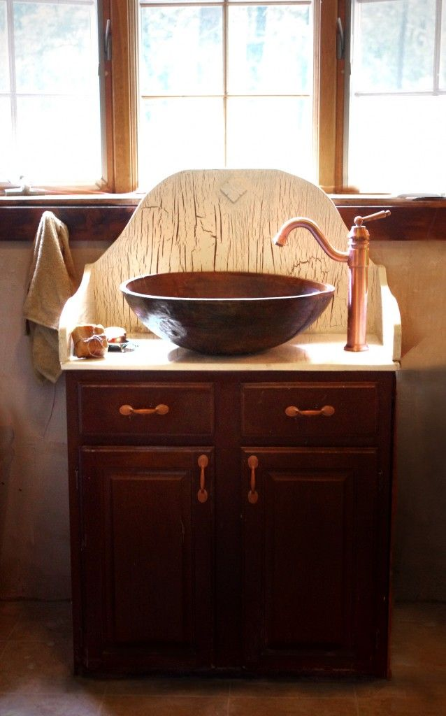 How To Turn Any Basin Or Bowl Into A Sink Bathroom Pinterest