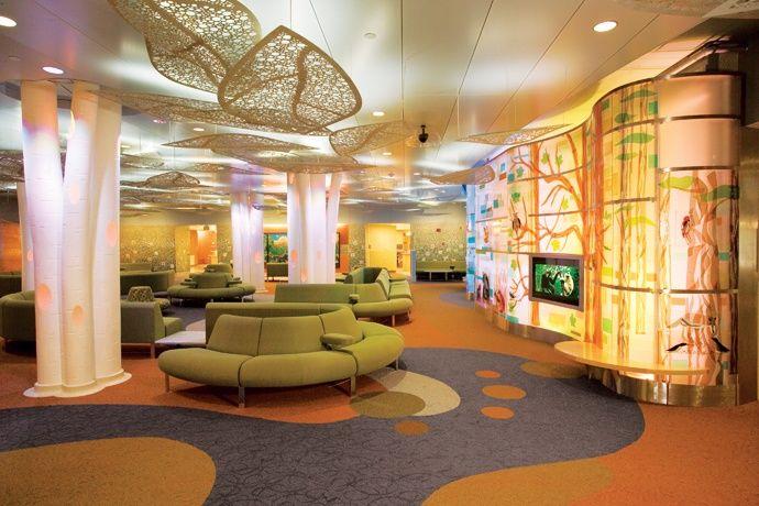 Childrens' hospital waiting room | Healthcare interior ...