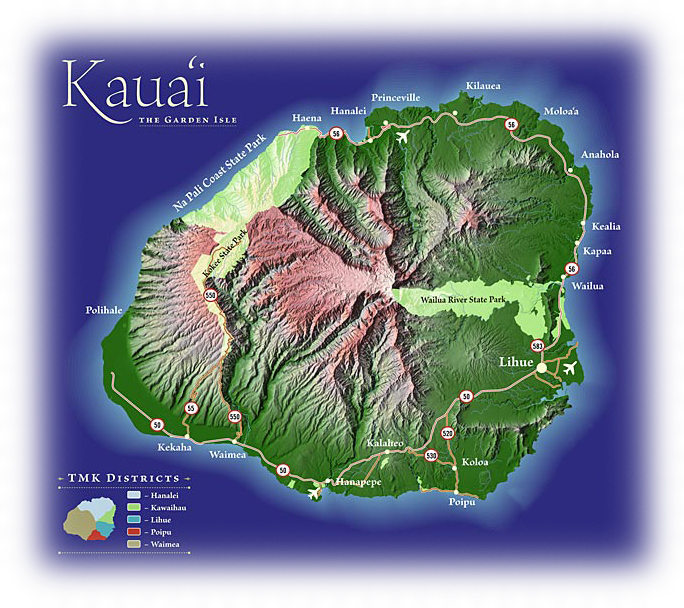 The breathtaking island chains of hawaii