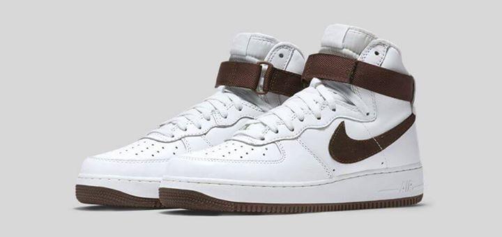Nike Air Force 1 High Chocolate. Coming 7th November.  http://ift.tt/1LpMCg7