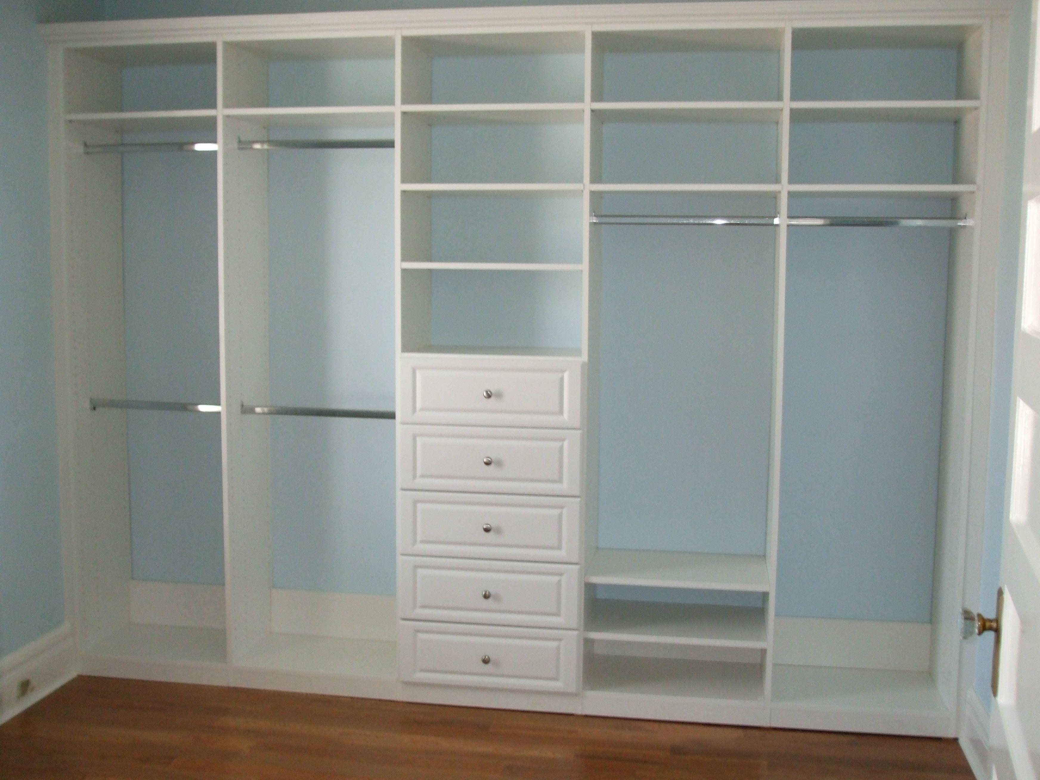 Best Closets Closet Interiors Closet Small Bedroom Closet 400 x 300