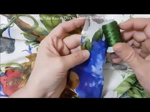 Arasında Kır Çiçekleri Tığ Oyası Yapımı - YouTube -