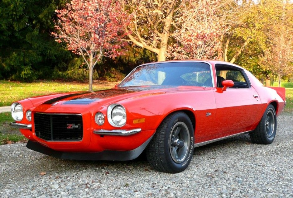 "'73 Chevrolet Camaro Z28 ... w/ original L82 engine and factory Muncie 4-speed close ratio gearbox. A ""a genuine Z/28 as confirmed by the ""T"" in the VIN sequence, and the seller also believes it to be a factory RS model."""