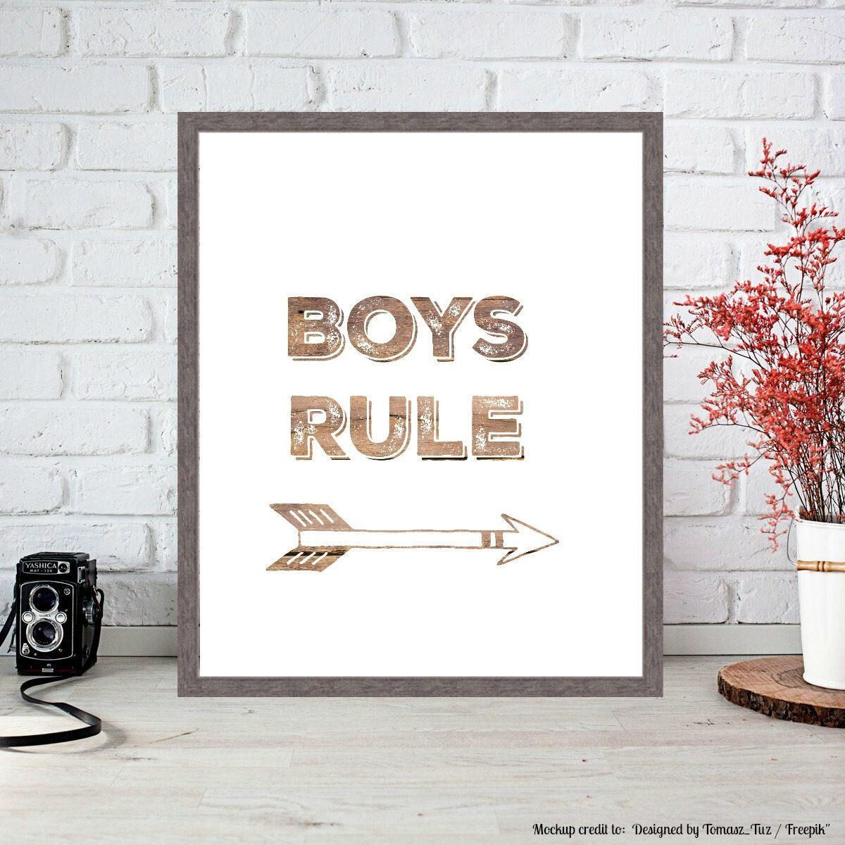 Boys nursery prints boys decor boys digital prints boys