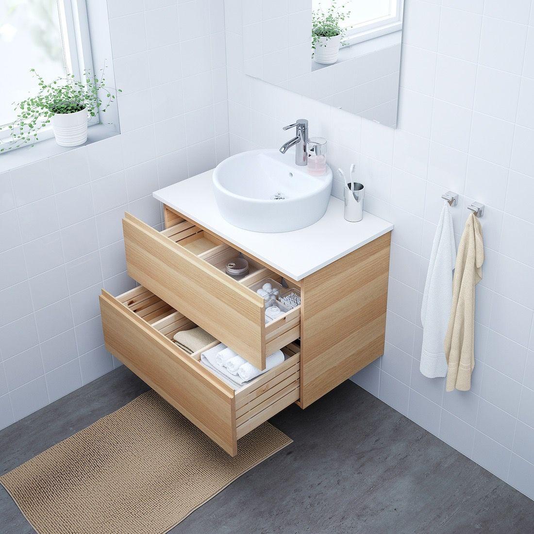 Pin By Benoit Monnier On Appart In 2020 Sink Cabinet Ikea Godmorgon Ikea