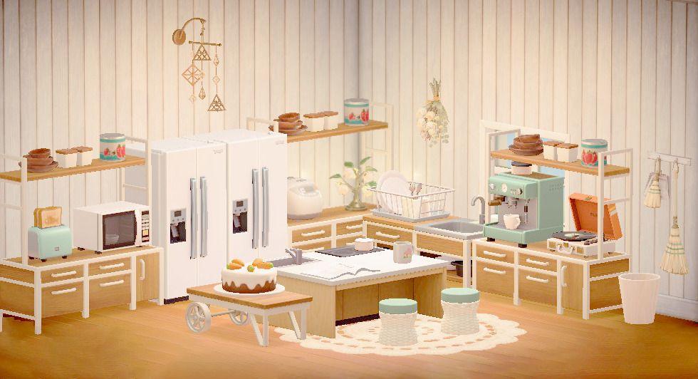 pastelia — pasteliapeaches: ironwood kitchen 🥕 here's a ... on Animal Crossing Ironwood Kitchen  id=95962