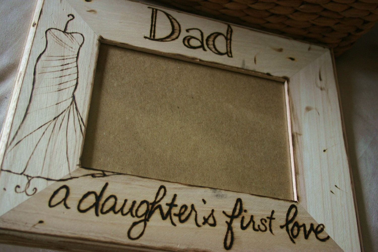 Daughter And Dad Picture Frame - Famous Daughter 2018