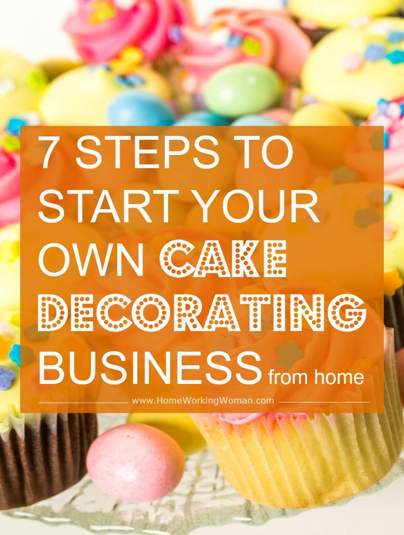 How to Start a Cake Decorating Business at Home